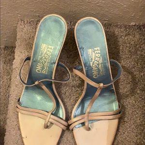 Vintage Ferragamo sandals